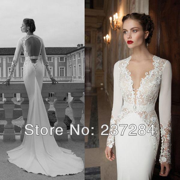 17 Best images about Bridal Dresses on Pinterest | Lace, Illusions ...
