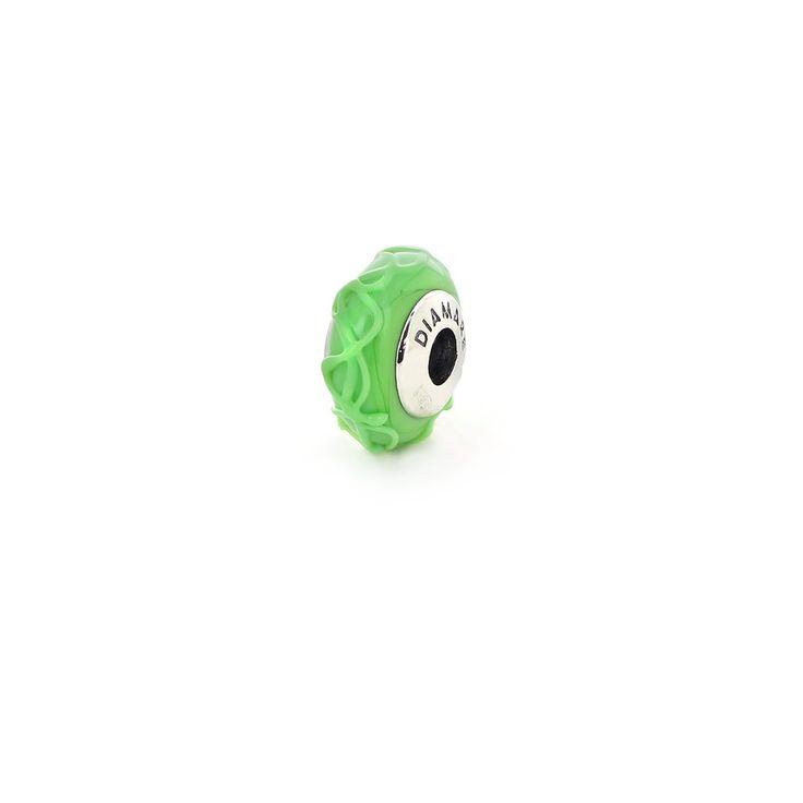 » .Подвеска-перлина «Зеленая глазурь»