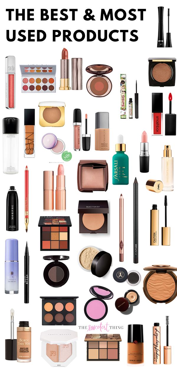 The best and most used makeup products of the year. All my beauty favs: primer, …  – Emily Gemma Makeup || The Sweetest Thing Blog