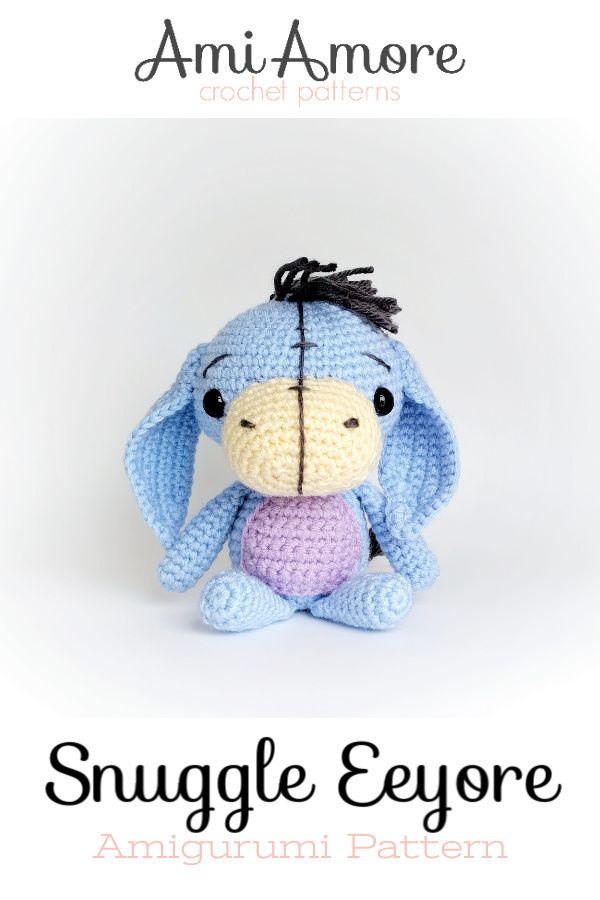 Eeyore Crochet Pattern Winnie the Pooh | Etsy | 900x600