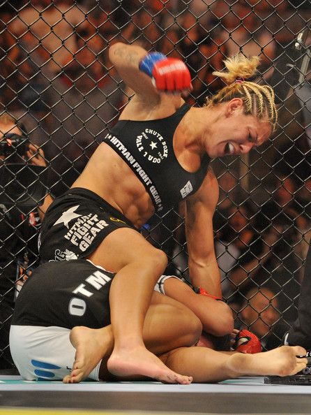 I want to say that Cyborg is Wanderlei Silva in a sports bra, but that'd be unfair. Cyborg is a Cyborg, and she will f****ing kill you. Plain and simple.