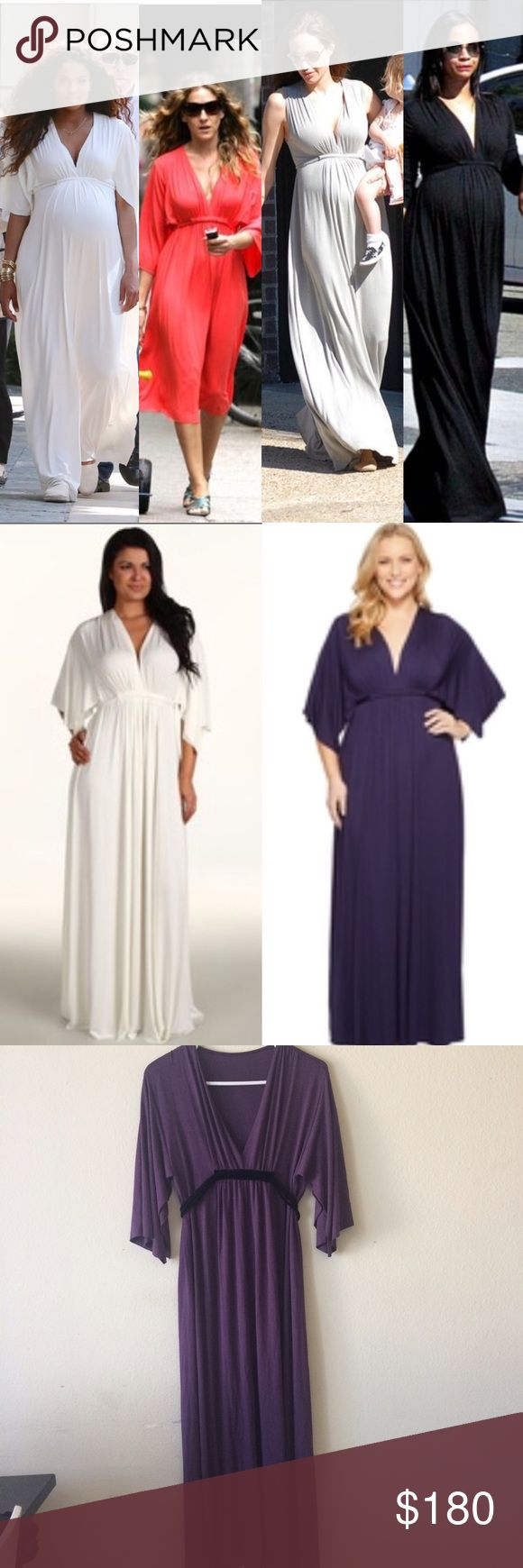 Rachel Pally Caftan Dress Worn but well taken care off. Celebrities love Rachel Pally because it's a cool comfy dress. It's not only a maternity dress, wear it anytime. Open to reasonable offers. Second Picture model and Ciara are wearing exact same dress different color. Size is XS but can fit up to a size Medium. Rachel Pally Dresses