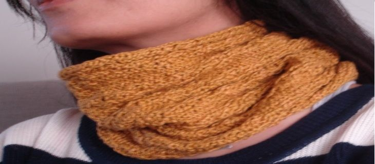 Cowl funk up your style with gold madison cowl for stylish winters. A neutral color buy now stylish cowl Rs 950/-. Free shipping in India