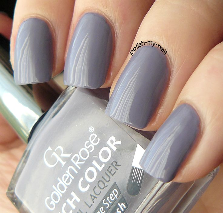 Golden Rose - Rich Color 102 #nails #grey #nailpolish #goldenrose
