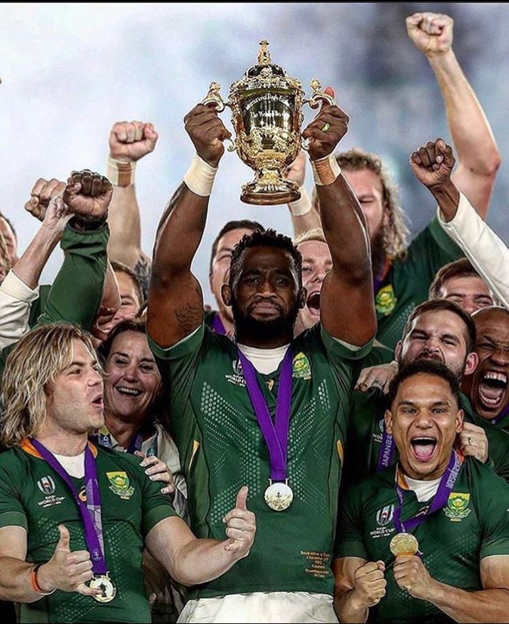 The Rugby World Cup champions South Africa in Japan