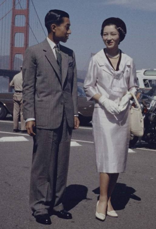 Crown Prince Akihito and Crown Princess Michiko of Japan visited San Franicisco.