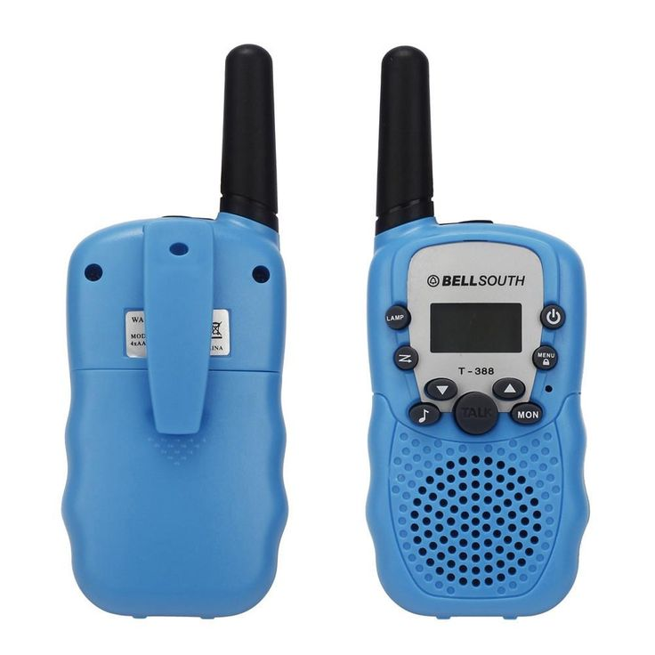 2pcs Wireless Walkie-talkie with Eight Channels and talking range of 5KM