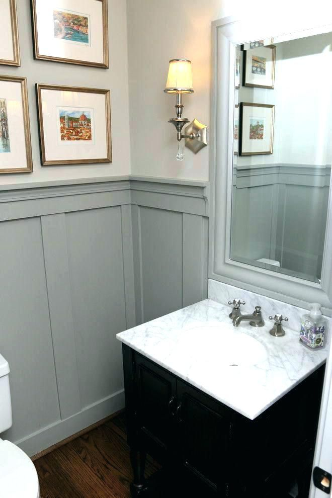Wood Paneling In Bathroom With Panelling Ideas Best For The House Images On Powder Room