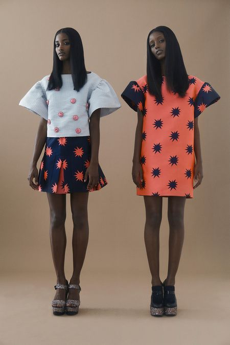 House of Holland Resort 2014: Melodie Monrose & Senait Gidey