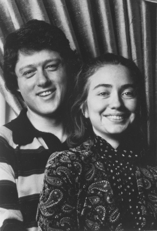 Photo Booth Picture Of Bill And Hillary Clinton First