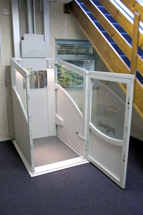 49 best through floor lifts and wheelchair lifts images on for Wheelchair accessible house plans with elevator