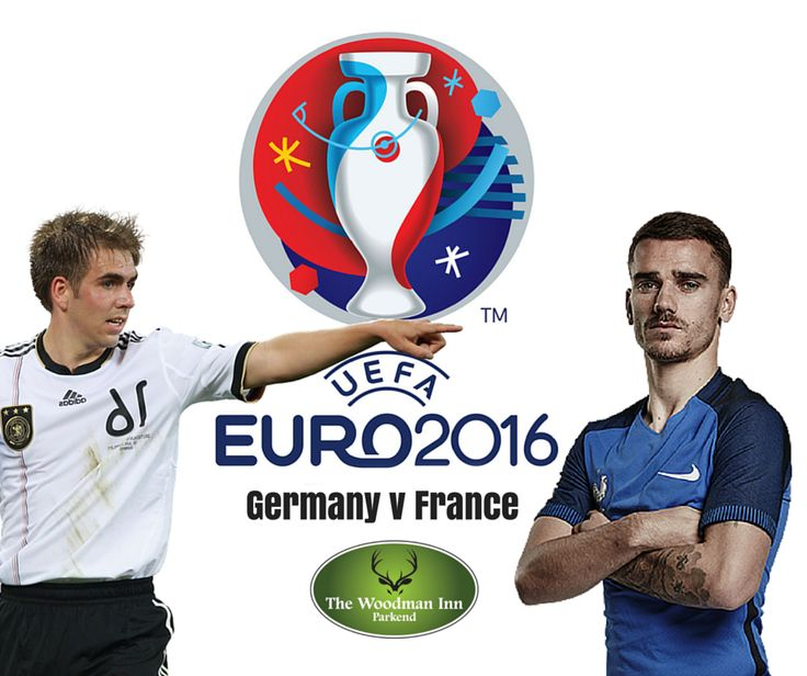 France will look to beat Germany in a competitive fixture for the first time in 58 years when they face off in the semi-final of Euro 2016 tonight all live at The Woody!! Kick Off 8pm #thewoodmaninn #forestofdean #football #euro2016  www.thewoodmanparkend.co.uk