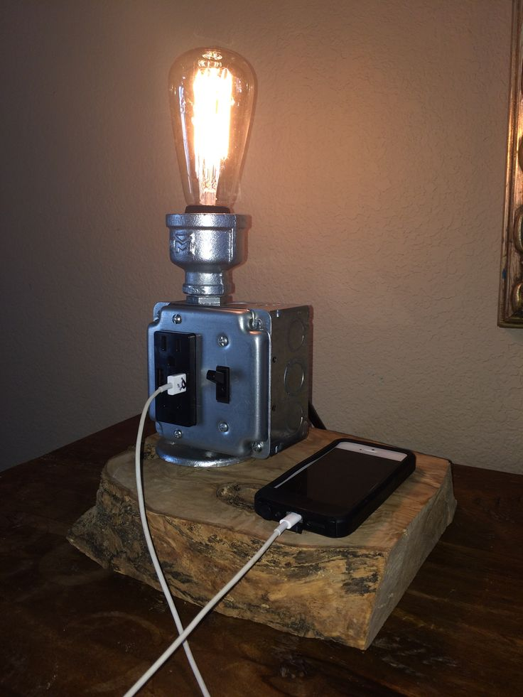 17 Best Images About Steampunk Lamps Chargers On Pinterest