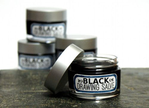 Natural Homemade Black Drawing Salve Recipe for Acne, Boils, Splinters, Bee Stings, Insect Bites and Infections