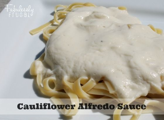 Getting my kids to eat veggies can be a challenge sometimes. This homemade cauliflower alfredo sauce is the PERFECT disguise! I whipped up a batch, served it over warm noodles and the whole family gobbled it up without ever knowing the main ingredient was a vegetable!
