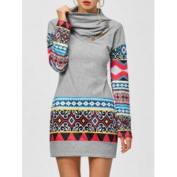 SHARE & Get it FREE | Tribal Print Long Sleeve Sheath DressFor Fashion Lovers only:80,000+ Items • FREE SHIPPING Join Twinkledeals: Get YOUR $50 NOW!