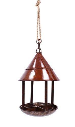 My Piece of Africa Rust Bird Feeder Hanging $199.95