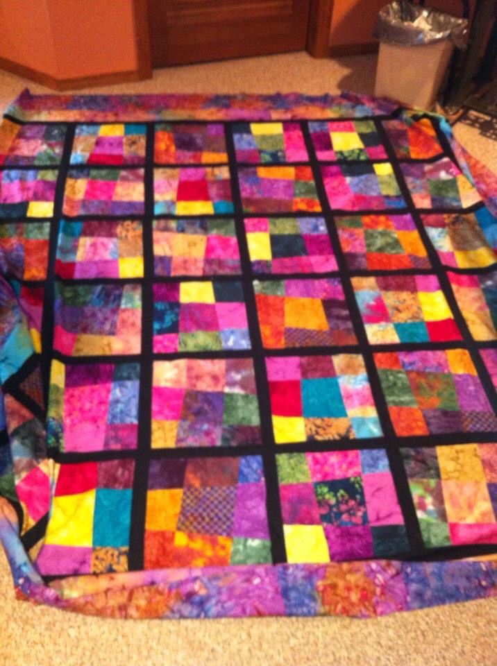 30 best Quilts -- Crazy 9 Patch images on Pinterest | Crazy ... : crazy nine patch quilt - Adamdwight.com