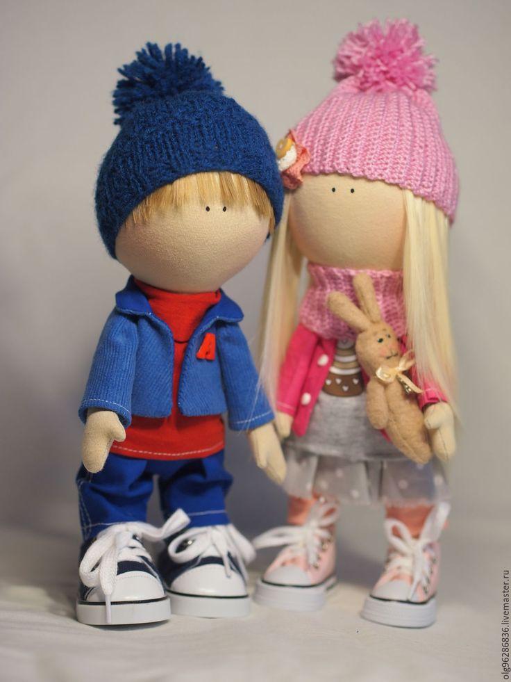 Купить Кукла малышка Антошка - мальчик кукла, кукла ручной работы, подарок, кукла малыш