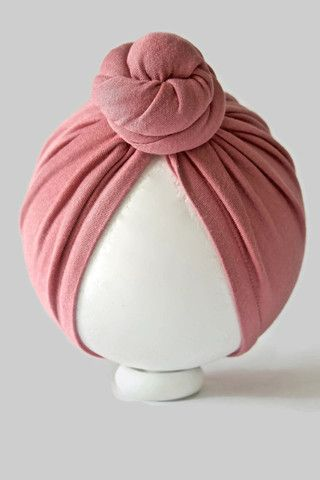 Muse Mini Top Knot Bun Turban