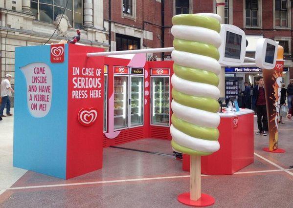 pop-up store ice cream