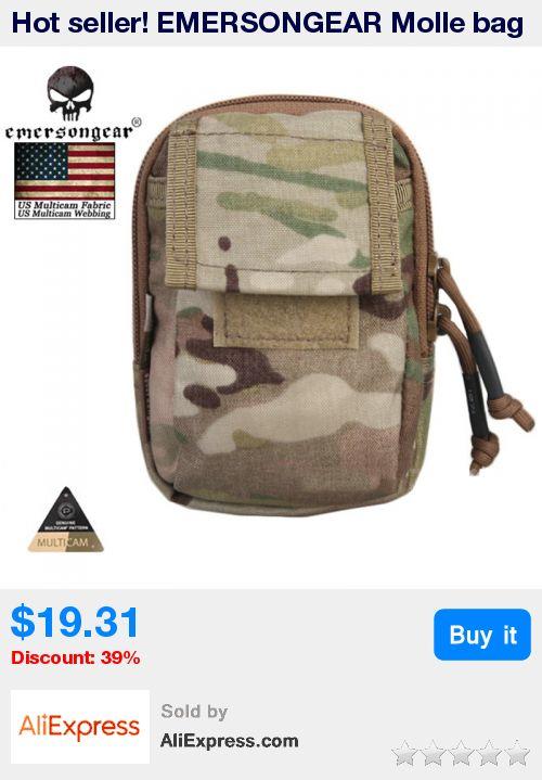 Hot seller! EMERSONGEAR Molle bag Detective Equipment Waist Bag Molle Military Pouch Airsoft Painball Gear Pouch EM8338 * Pub Date: 10:55 Jul 11 2017