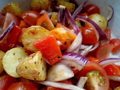 Sült krumplisaláta (vagy sültkrumpli saláta?)