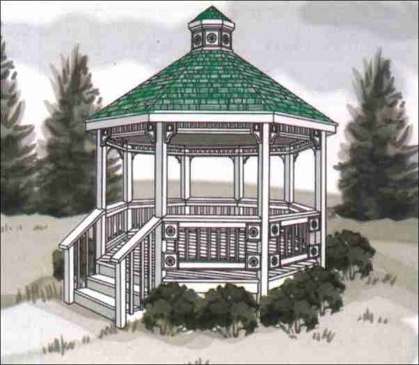 32 best images about gazebos on pinterest gardens for 60 ft garden design