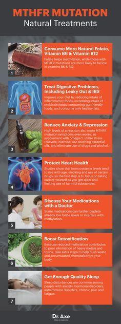 MTHFR mutation natural treatments - Dr. Axe http://www.DrAxe.com #health #holistic #natural