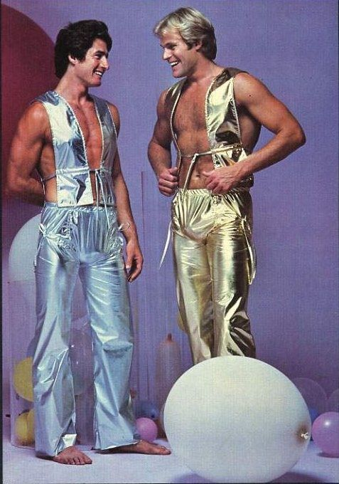It might be kinda 70's ish but if someone wore one of these to our party- they'd steal my heart