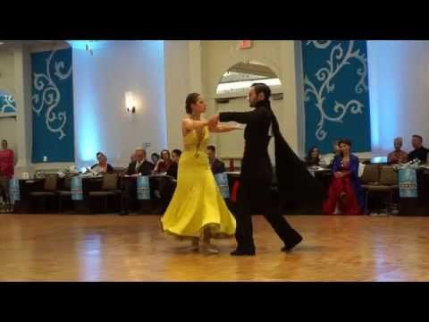 Snow Ball Dance Competition 2015 Phantom of the Opera - Bronze Solo - YouTube