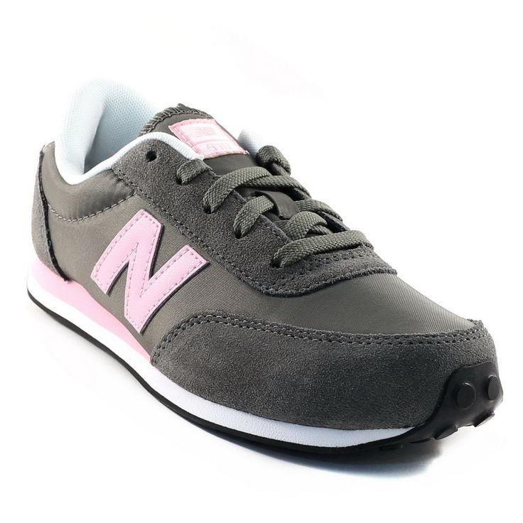 363A NEW BALANCE KL410 GRIS www.ouistiti.shoes le spécialiste internet de la chaussure enfant et femme collection automne hiver 2014 2015