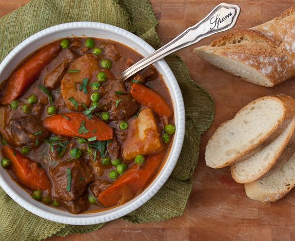 Guinness Lamb Stew with Vegetables  In this hearty stew, lamb is braised in a flavorful Guinness-spiked broth until deliciously tender, and vegetables are added at just the right time so they don't get mushy. If you like my Beef Stew with Carrots and Potatoes, you'll love this recipe too