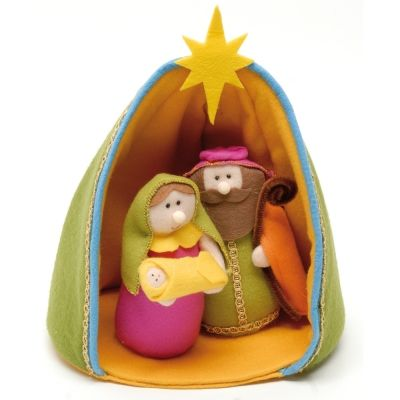 Nativity Set: (Sorry, can't get to the website...photo only.) Very cute!!!