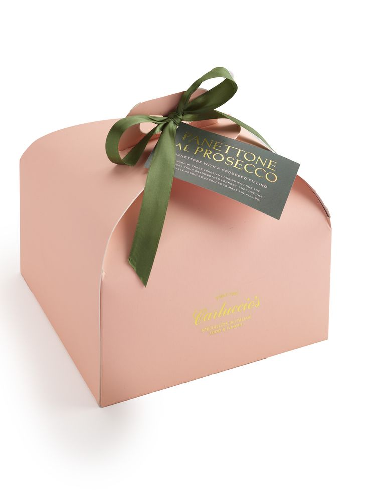 Prosecco panettone -'Carluccios Christmas - Quite Simply The Best Of Italy