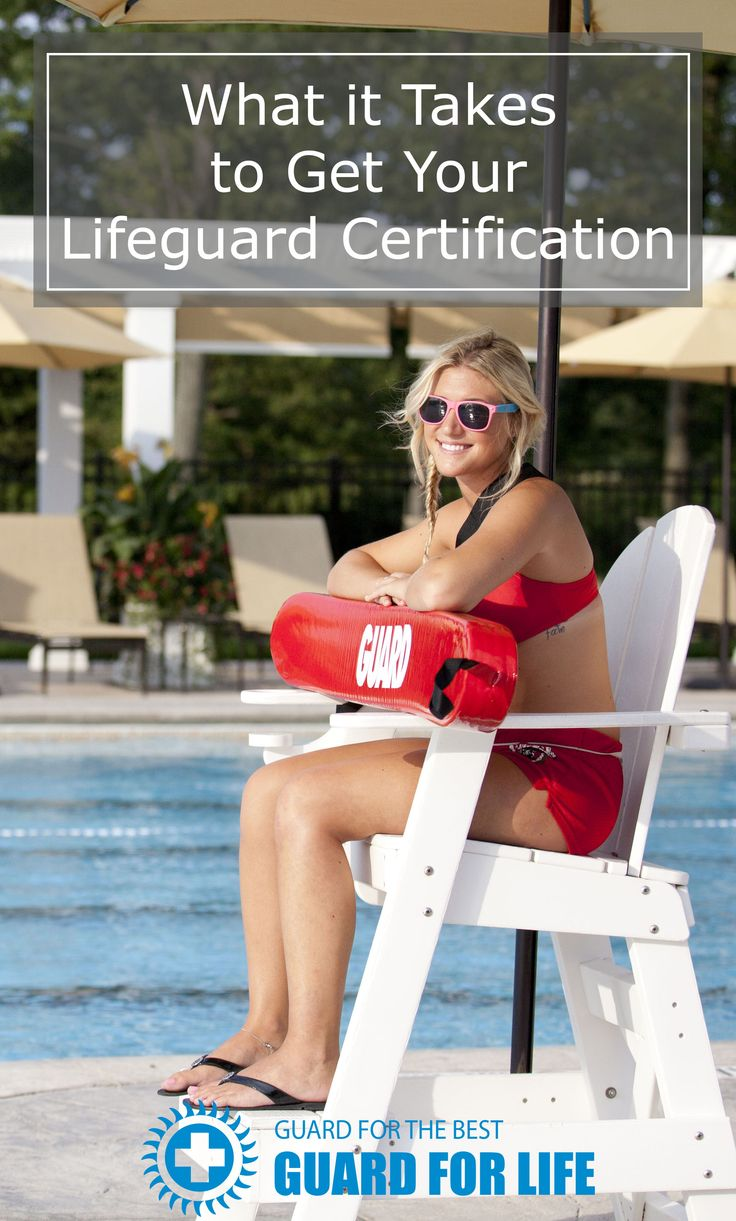 How to become a Certified Lifeguard | Guard For Life