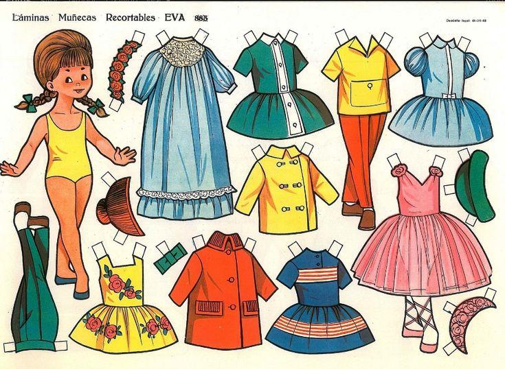 recortables muñecas de papel, paper dolls, bambole da carta, poupées en papier - merimartinez1 - Álbumes web de Picasa