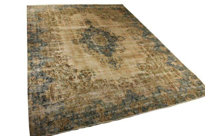 Vintage vloerkleed, 371cm x 283cm | Rozenkelim.nl - Groot assortiment kelim tapijten