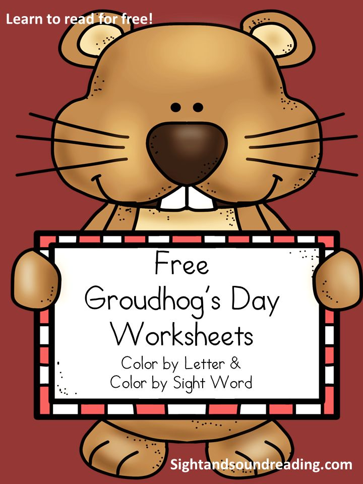 Classroom Freebies Too: Free Groundhog's Day worksheets