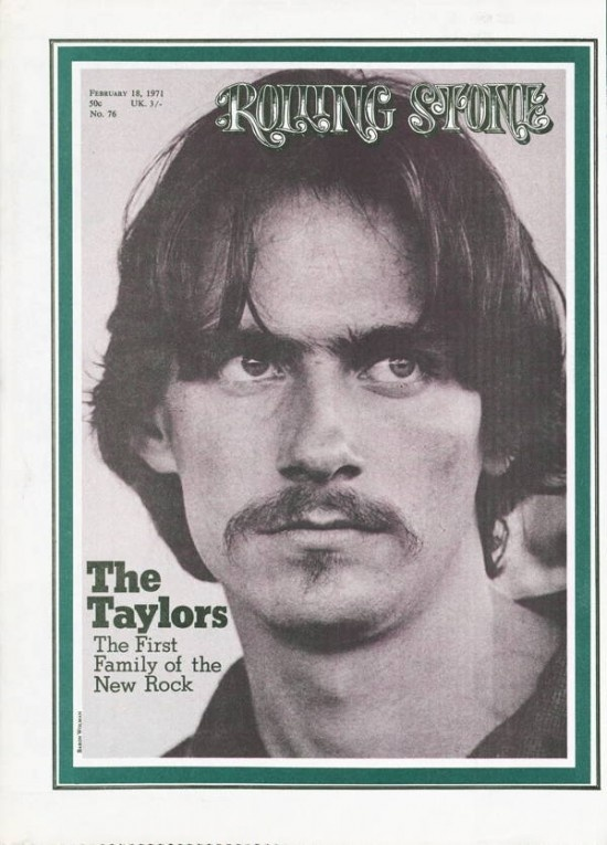 Rolling Stone #76 Feb 1971: James Taylor - Saw him with Carole King and what a once in a life time experience that was.