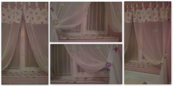 #girlcurtains #curtaindesign #pinkcurtain