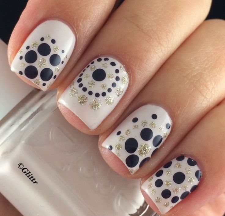 New Polka Dot Nail Designs 2017 2017 - Nails Design Ideas - 25+ Unique Polka Dot Nails Ideas On Pinterest Fun Nail Designs