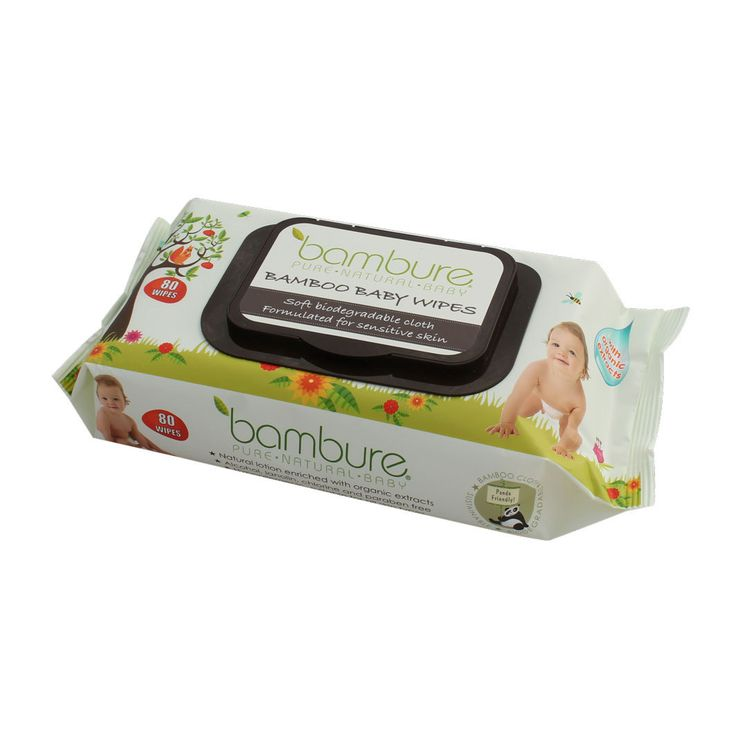 Hello Charlie - Bambure Bamboo Baby Wipes, $5.95…
