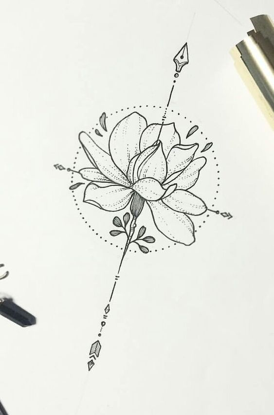 Lotus Flower – More Than 70 Cartoon Models – Tattoos Ideas