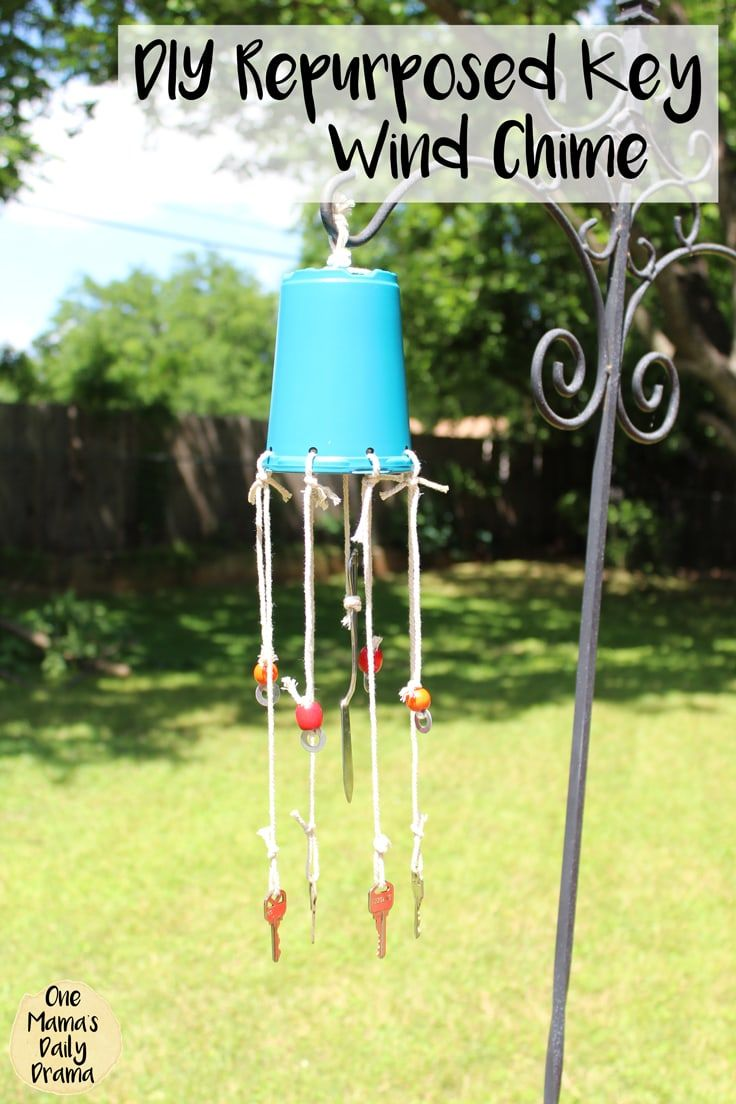 Diy Repurposed Wind Chime With Old Keys Ideas For The Home