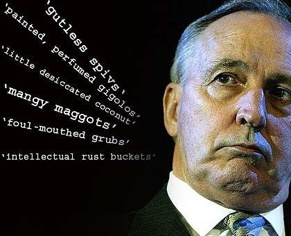 The great former Prime Minister, Paul Keating and his brilliant quotes.