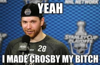 this is too funny - Giroux vs Crosby