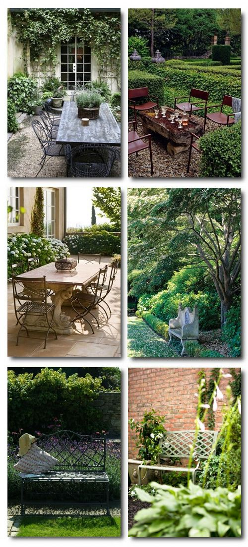 beautiful courtyards painting outdoor furniture what type. Black Bedroom Furniture Sets. Home Design Ideas