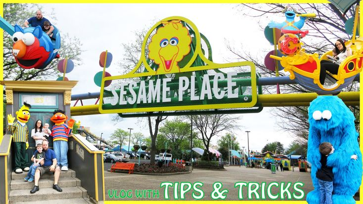 Sesame Place! - Our Experience At The Sesame Street Theme Park & Tips & ...