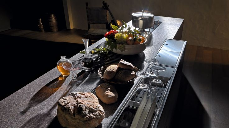 Designer Kuechen Design von Valcucine Kueche Innovationen - kuchen utensilien artematica inox valcucine